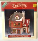 LEMAX Dickensvale Porcelain Lighted House HABERDASHERY HAT SHOP Snow Village