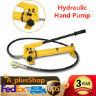 Hydraulic Hand Pump 4 foot long Hose Hose Couplermax output pressure 10000 psi