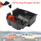 Fit For Jeep Wrangler JL2018 2020 Center Console Armrest Storage Box Tray Parts
