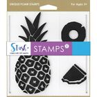 Stamps Stash Pineapple Foam Stamps B11