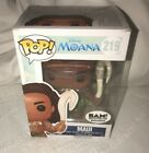 Funko Pop Disney BAM Exclusive MAUI Vinyl Figure 219 Moana Hard to Find
