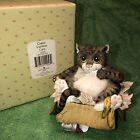 COMIC  CURIOUS CATS ALLEY CAT Cat figurine Border Fine Arts