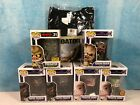 Funko POP! Predator Collection Lot of 6 w FYE Hot Topic Exclusives & L T-Shirt