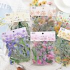 40pcs Cute Korean Japanese Journal Paper Diary Flower Stickers DIY Scrapbooking