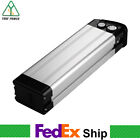 E bike Silver Fish Lithium ion Battery 48V 10Ah with USB for 500W 1000W Motor