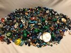 Mixed Lot 4+ Lbs Vintage Modern Loose Beads Glass Pearls Ceramic Metal Abalone