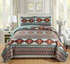 Rugs 4 Less Rustic Southwestern Twin Bedding Quilt Set Native American Tribal Be