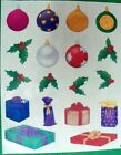 Creative Memories Christmas Ornament Holly  Gifts Stickers