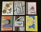 Large Lot 25 HANDMADE STAMPIN UP CARDS BIRTHDAY FRIEND SYMPATHY BABY HOLIDAY