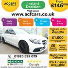 2017 WHITE MERCEDES C63 40 AMG 469 BHP PETROL ESTATE CAR FINANCE FR 146 PW