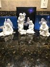 VTG AVON NATIVITY HOLY FAMILY POOR MAN MAGI MELCHIOR COLLECTIBLE FIGURINES 1981