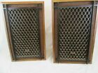 Vintage Akai SW-125 Level Controlled 3 Way Speakers Made In Japan set of 2
