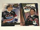 2 DAVE BLANEY autographed WHEELS HIGH GEAR 2000 NASCAR AMOCO PONTIAC cards LOT1