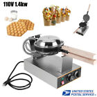 14kW Electric Bubble Egg Cake Oven Puff Bread Waffle Maker Bake Machine US Plug
