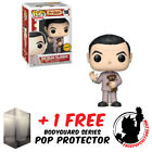FUNKO POP MR BEAN - PAJAMAS WITH BEAR LIMITED EDITION CHASE PIECE + PROTECTOR