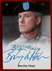 EUREKA - BARCLAY HOPE as General Mansfield - AUTOGRAPH CARD - RITTENHOUSE 2011