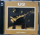 U2 Exit Paris NM/NM Very Rare 2cd silver cds euro Boots long oop