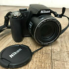 Nikon COOLPIX P90 12.1MP Digital Camera - with Charger, Battery, Strap