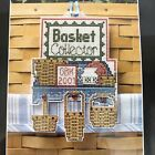 Cross Stitch Kit Basket Collector Perforated Paper Longaberger OOP