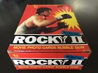 1979 Topps Rocky II Wax Box 36 Sealed Packs Cards Sylvester Stallone Creed 70s