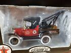 Gearbox 1918 Ford Runabout Tow Truck Texaco Diecast Coin Bank