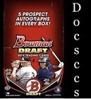 2014 BOWMAN DRAFT SUPER JUMBO Baseball Factory Sealed Hobby 5 AUTOGRAPHS Per Box