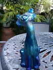 FENTON FAVRENE CARNIVAL ALLEY CAT VERY RARE last call auction ends 12 30 19