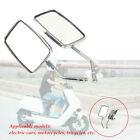 Motorcycle Tricycle Reflector Convex Large Field Back-up Rearview Mirror Durable