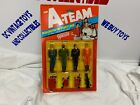 Vintage 1983 Galoob The A Team Soldiers Of Fortune 4 Pack Set On Card B.A. Face