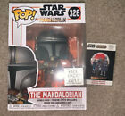 New D23 Expo 2019 Exclusive Star Wars The Mandalorian Funko Pop And Pin