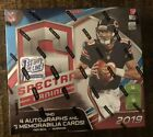2019 Panini Spectra FOTL First Off The Line Sealed Football Hobby Box