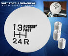 For Bmw Shift Knob Hand Gear Box Short Throw Manual Engine Ball Kit Set Black