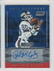2016 Donruss Signature Series Football Cards - Checklist Added 2