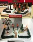 LEMAX FROSTY FUN LIGHTED FRONT YARD #34886 (2003) CHRISTMAS VILLAGE DISPLAY