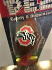 Pez Dispenser The Ohio State University NCAA College Football [Carded] NEW Gift