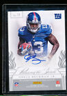 2014 ELITE PASSING THE TORCH ODELL BECKHAM RC PLAXICO BURRESS AUTO 16 25 POTT