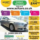 2016 SILVER FORD MONDEO 20 TDCI 150 ZETEC ECONETIC DIESEL CAR FINANCE FR 44 PW