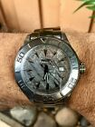 Invicta Mens Ocean Ghost 5015 Limited Edition Meteorite Swiss Made Automatic