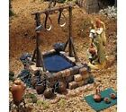 FONTANINI ITALY 5 RETIRED WINEPRESS VILLAGE NATIVITY SET