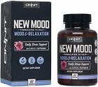 ONNIT - New MOOD: Daily Stress Formula - Mood Support - 60ct - NEW