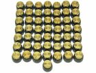 Guitar Amplifier Knobs With Gold Cap Push On Knob For Marshall AMP 50pcs