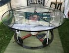 Vintage Glass Top Table Childs Playground Ride Base Delivery Available