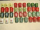 Yankee Candle Votive DELUXE lot of 40 Favorite WINTER CHRISTMAS SCENTS