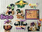 Lot of 10 Halloween Premade Tear Bears Mats Embellishments for Scrapbooks Cards