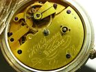 Very Rare English Fusee Patent Union Escapement pocket watch