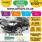 2015 BLACK RANGE ROVER 30 TDV6 VOGUE DIESEL AUTO 4X4 CAR FINANCE FR 150 PW