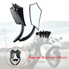 Motorcycle Tricycle Anti dazzling Reflector Back-up Rearview Mirror blue glass