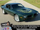 1973 Pontiac Trans Am Brewster Green, 455 Auto, AC, Numbers Matching 1973 Pontiac Trans AM Brewster Green, 455 Auto, AC, Numbers Matching