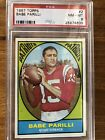 1967 Topps BaBe Parilli PSA 8 Perfect Centering