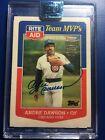 ANDRE DAWSON 2018 Topps ARCHIVES 1988 Topps Buy Back Auto #D 1 1